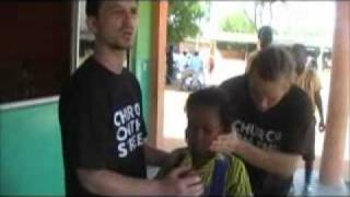 Church on the street Ghana school pt1