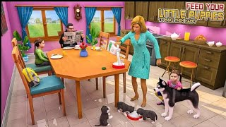 Dog Simulator Puppy : Virtual Family Game screenshot 4