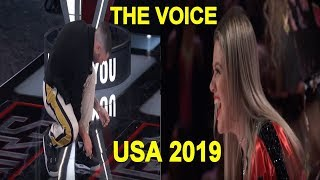 The Voice USA 2019 - Best Blind Auditions Of The Voice usa Season 15 - PART 2