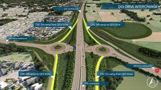 Christchurch Northern Corridor (CNC) – How to use the Southern Interchange