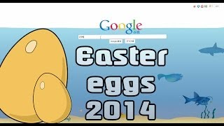 Repeat youtube video All Google Easter eggs 2014