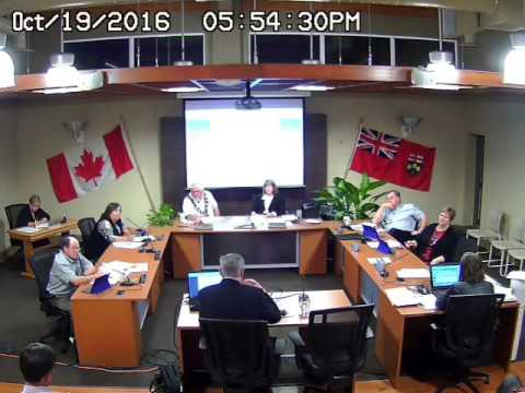 Council Meeting - Oct 19, 2016 - Part 2 (audio missing from source file)