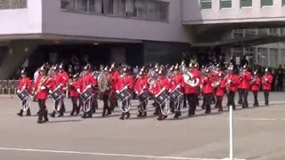 RBLYBB Display at the Met Police Passing Out Parade 29 August 2014