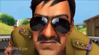 Singham Returns Cartoon   Tapori Maramari PagalWorld com HD PC