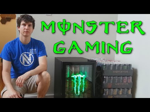 Monster Gaming Sponsorship! - This is a big step for me! (Monster Energy)