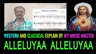 western and classical explain / alleluya / tamil christian songs / my music master