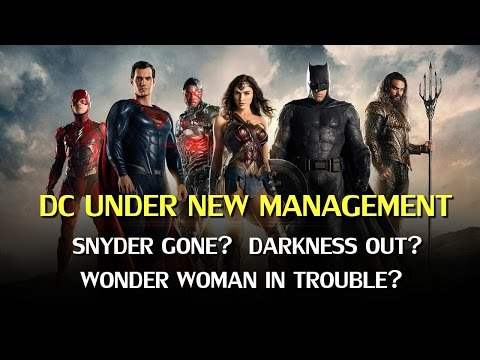 The Future of DC on film: Zack Snyder out, Wonder Woman in Trouble?