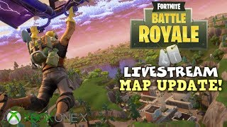 New Map Update! - Duos with Kazi - Fortnite Battle Royale Gameplay - Xbox One X - Livestream