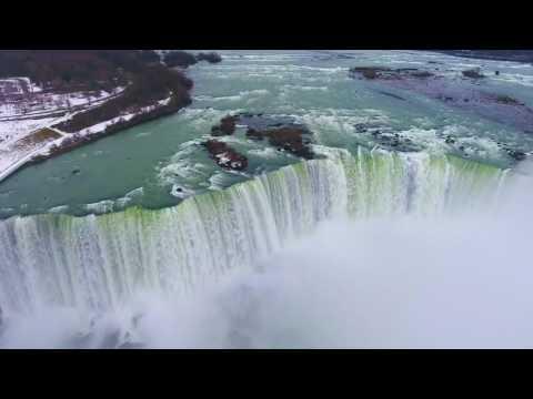 Beautiful Niagara Falls 4K VIDEO 2017