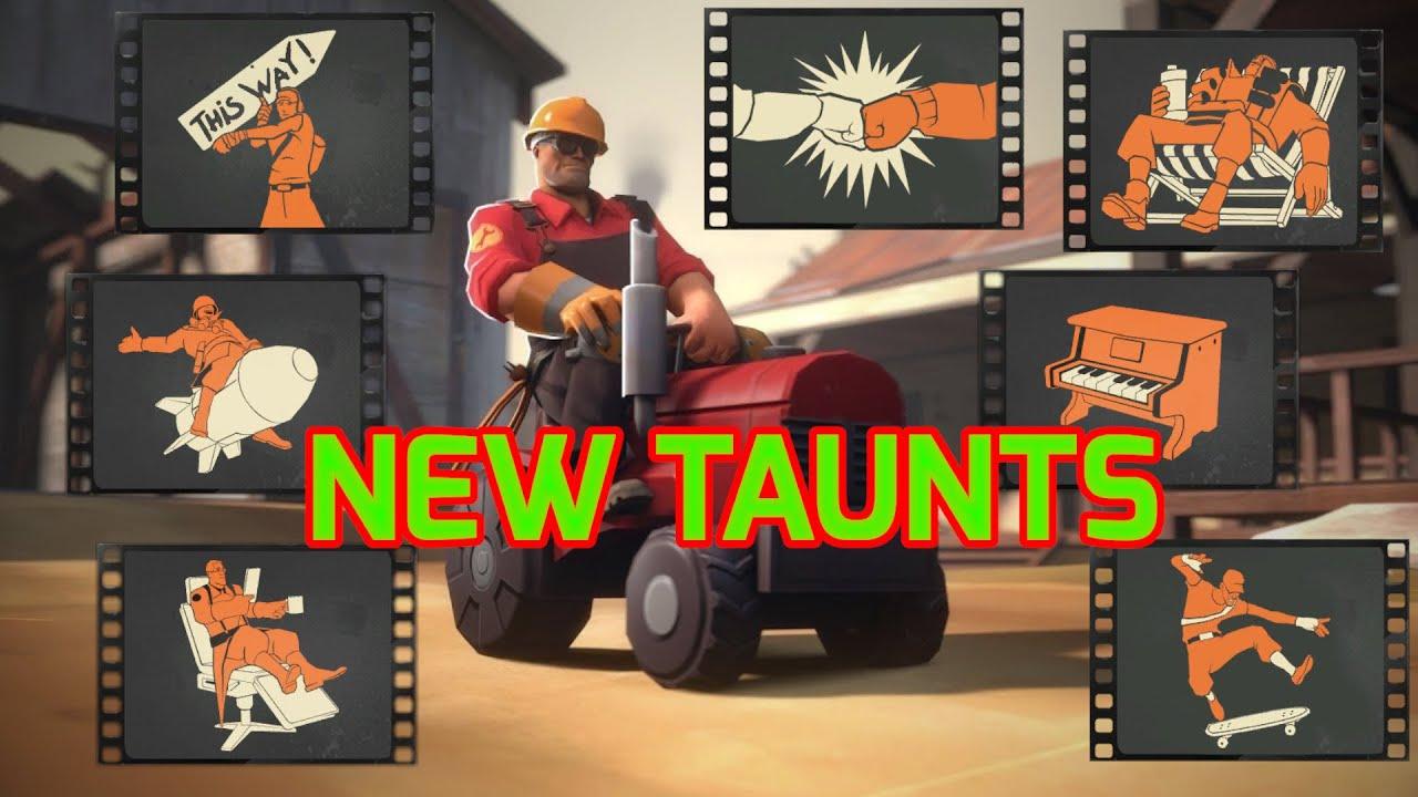 [TF2] All new TAUNTS in Smissmass 2020