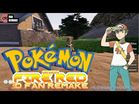Pokemon Origin Fire Red 3D - Gameplay + Download