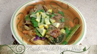 Lamb Neck Chop stew Pressure Cooker Recipe cheekyricho