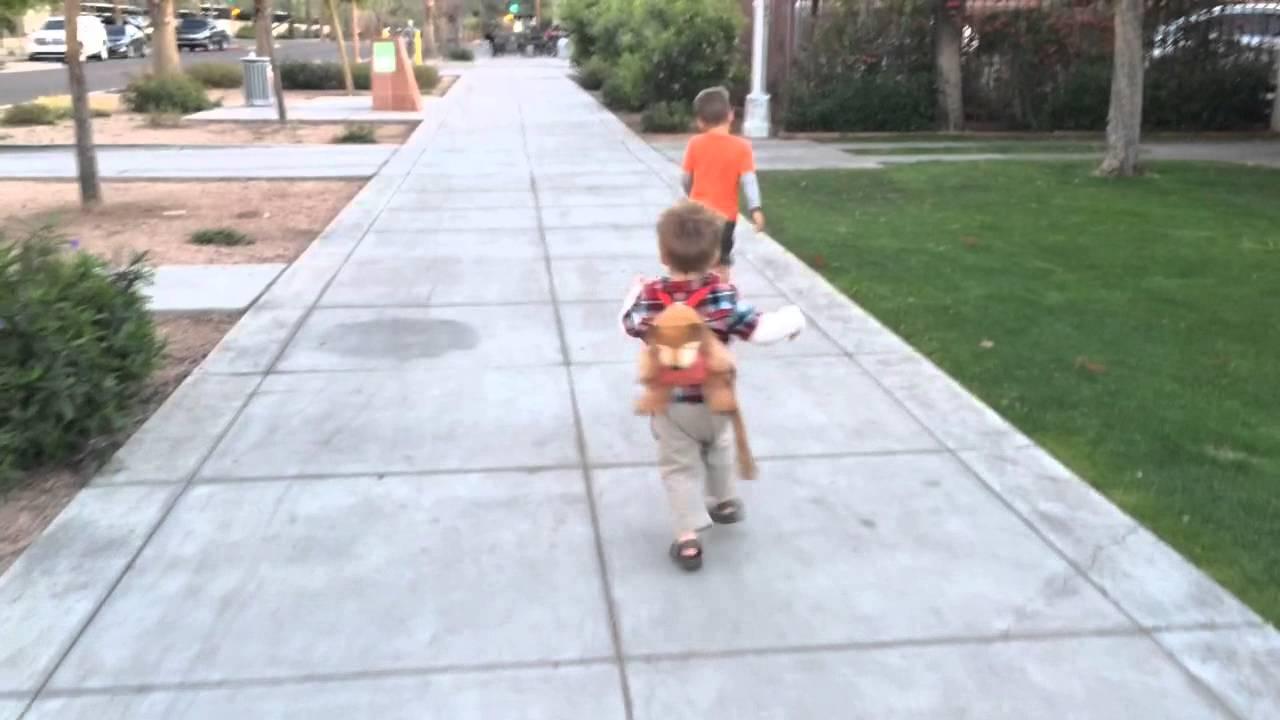 Eric Carle Bear Backpack Harness - YouTube