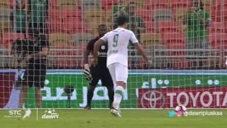 هدف الأهلي الأول ضد القادسية في دور الـ5 من دوري جميل