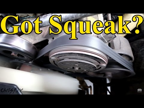 Thumbnail: How to Fix a Squeaky Belt (figure out where the squeak is coming from)
