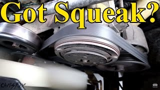 Download How to Fix a Squeaky Belt (figure out where the squeak is coming from) Mp3 and Videos