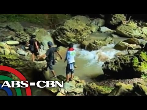 Mini underground river in Palawan