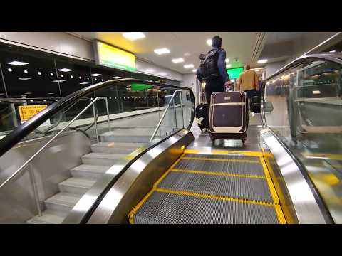 How To Go From JFK Airport To LIRR Or NYC Subway ( Manhattan ) - The Airtrain - 2020 January 14