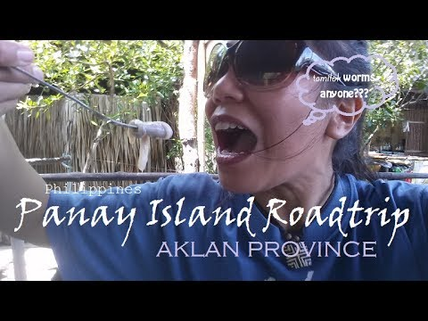 Panay Island Roadtrip (Episode 2): Aklan Province--can't believe I ate tamilok worms!!!
