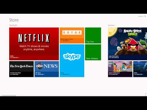Windows 8: How to Update Apps