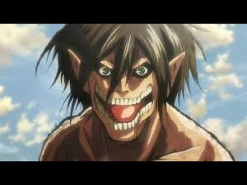 Attack on Titan Erens Verwandlung zum Titan Deutsch - YouTube