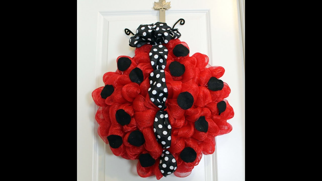 Black And White Ribbon Wreath