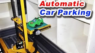 Automatic Car Parking System Project Mechanical Engineering projects