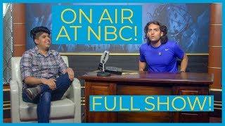 On Air at NBC Studios!