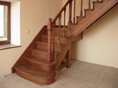 фото деревянные лестницы