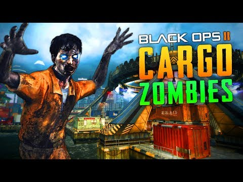 BLACK OPS 2 CARGO ZOMBIES (Call of Duty Zombies)