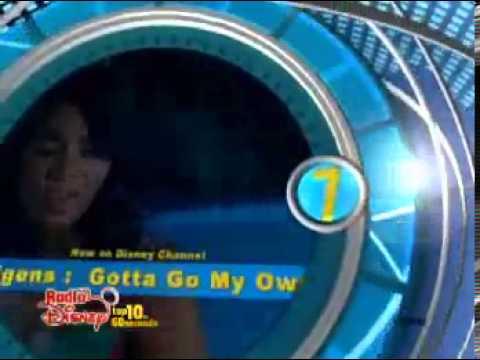 Radio Disney Top 10 Songs Of 2007