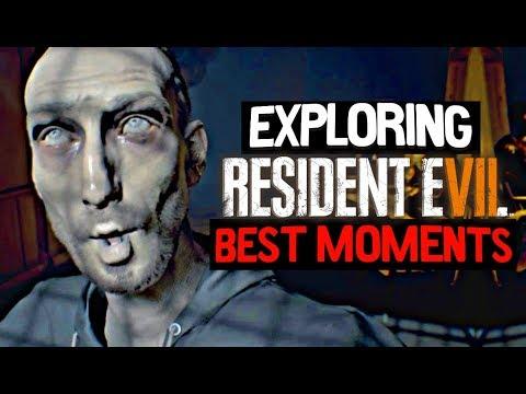 Exploring Resident Evil 7 BEST MOMENTS! |