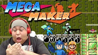 HOLD THE F#%K UP!!!??? MEGA MAN MAKER!?? WHERE MARIO AT!?