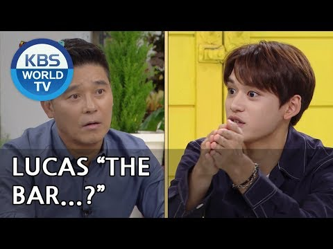 """""""Lucas, Do You Know Changjung By Any Chance?!"""" [Happy Together/2018.10.04]"""