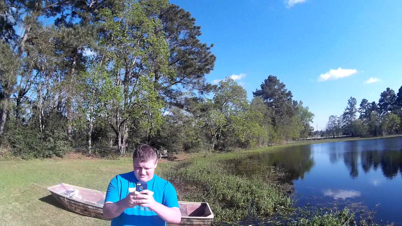 Lake conroe pond bass fishing youtube for Lake conroe bass fishing