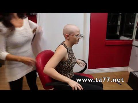 Jasmine AZ Trailer: Long Blonde Hair to Bald w/ Glasses