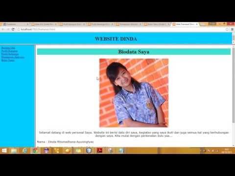 Tutorial Membuat Frame HTML Script