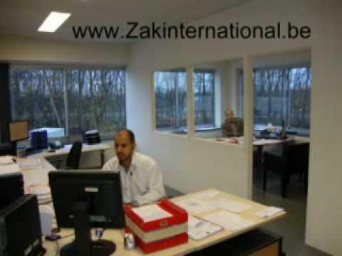 Transport de colis Bruxelles Zak International. Courrier express Europe au départ Belgique