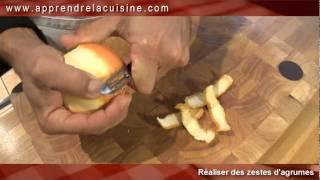 comment faire zeste citron