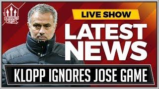 Mourinho Snubbed by Klopp? Man Utd News Now