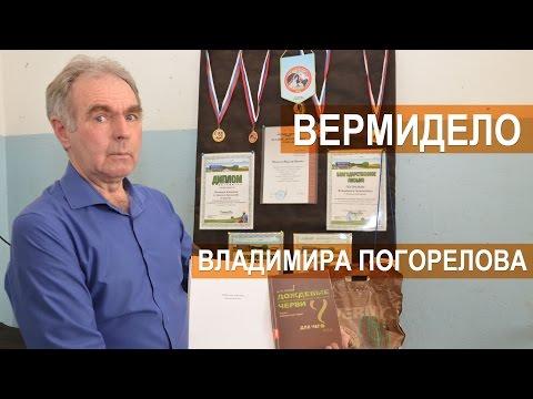 Вермибизнес Владимира Погорелова. Разведение червей, биогумус, вермичай.