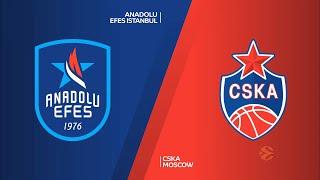 EuroLeague 28. Hafta: Anadolu Efes - CSKA Moskova