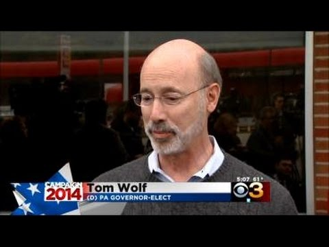 Tom Wolf Holds First News Conference As PA Governor-Elect