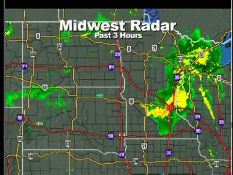 6-17-12 St. Paul, MN TPT Weather Radio (Severe Thunderstorms) 11:27 pm