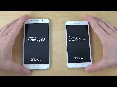 Samsung Galaxy S6 vs. Samsung Galaxy Alpha - Which Is Faster?
