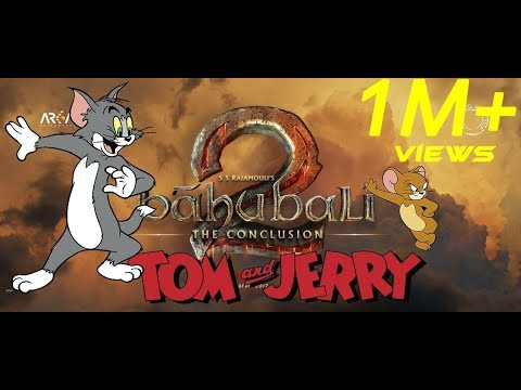 BAHUBALI 2 TOM AND JERRY VERSION