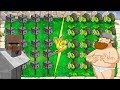 Plants vs Zombies : Gatling Pea Minecraft vs Gatling Pea