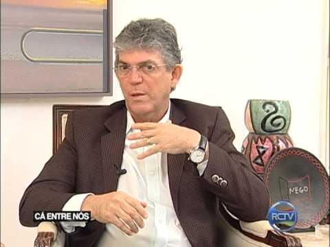 GERMANO ROMERO ENTREVISTA O GOVERNADOR RICARDO COUTINHO