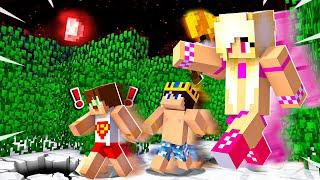 KIZDAN SAKLANMAK ! Minecraft DEV PİZZA HARİTASINDA SAKLAMBAÇ