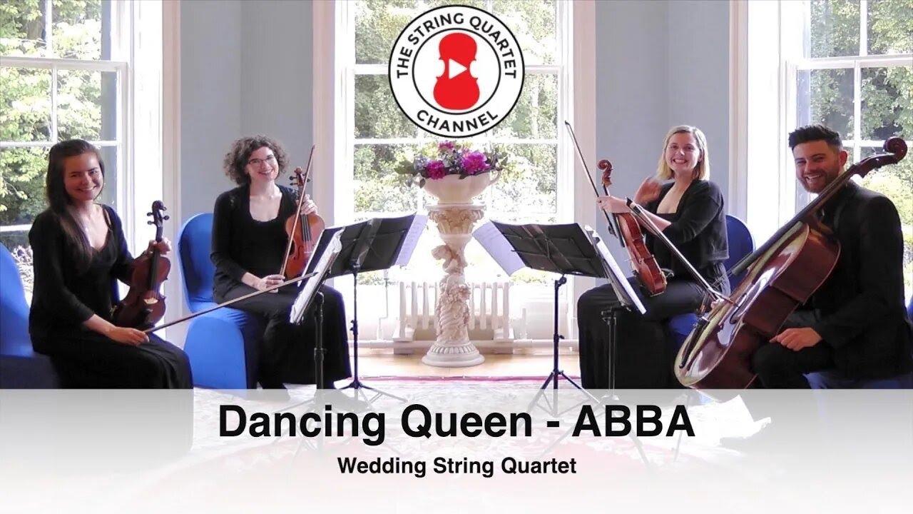 dancing queen abba wedding string quartet youtube